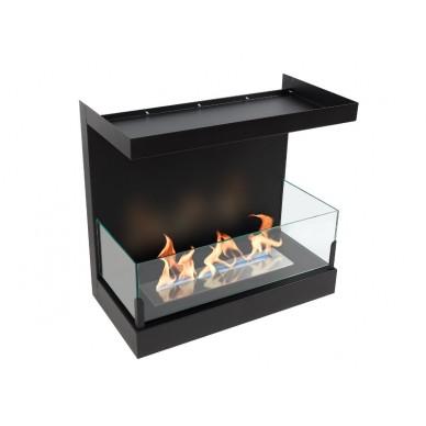 Встроенный биокамин LUX FIRE Фронтальный 1100 M