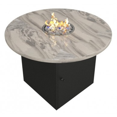 Газовый камин стол Argus круглый